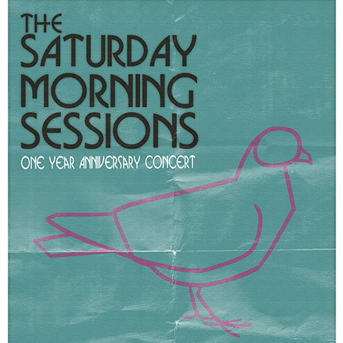 Saturday Morning Sessions (Gig Poster)