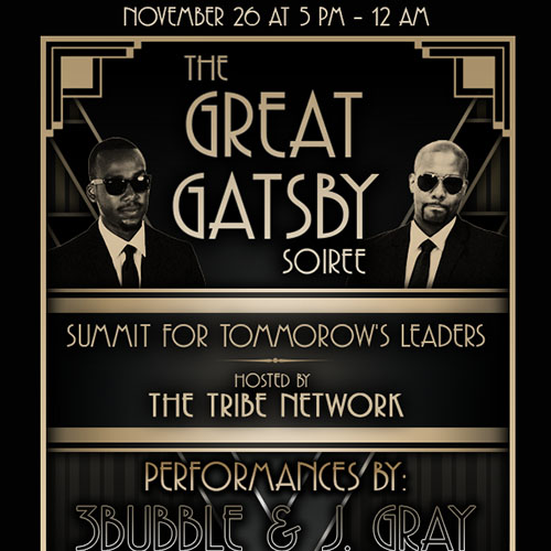 Great Gatsby Soiree (Event Flyer)