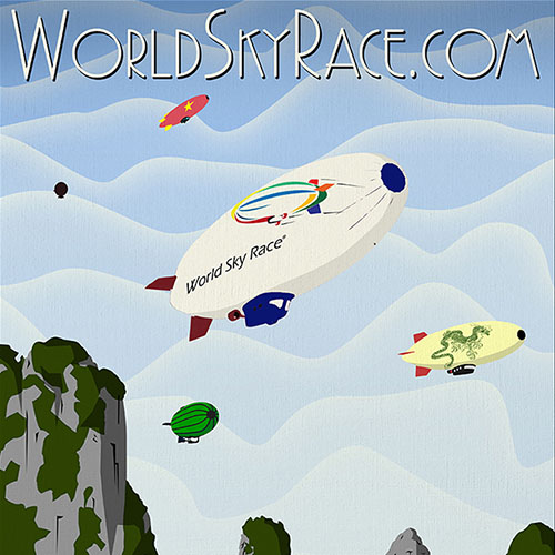 World Sky Race (Destination Poster)
