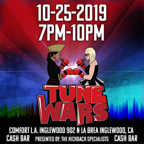 Tune Wars Event Flyer